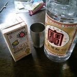 豆乳の焼酎割り!!!毎日飲んで健康ハッピー。僕は毎日飲んで風邪しらず(嘘)