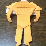 出来たどー‼‼オリロボ WR02 ついに完成 折り紙は大きいほうがよい