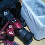 お金が無いのでカメラバッグを自作した。ハクバ インナーソフトボックス TYPE-B
