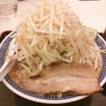 【閉店】レイクタウンの大勝軒で食べた。二郎系ラーメンが満腹です