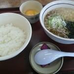 山田うどんの朝定食がコスパ抜群の件。大盛り330円の玉子かけごはんに敵は無し
