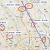 セアカゴケグモが埼玉県で見つかったので、セアカゴケグモ発生MAPを作りました。