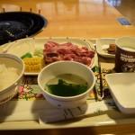 大笹牧場でジンギスカンを喰らう。『よくばりセット』が3つの味が楽しめて大満足ですよ