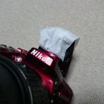 カメラのフラッシュはティッシュペーパーで上手に使え!ティッシュディフューザーを試してみた