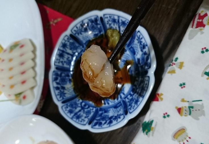 北海道豊浦町 ふるさと納税のホタテを刺身で食べる