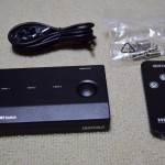 「HDMI切り替えスイッチ BSAK302」をAmazonプライムビデオを見る為だけに買いました!これで快適です