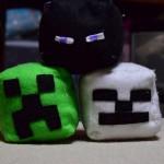 小5長男がマイクラ人形を3次元でリアルに作り始めた。エンダーマン、クリーパー、スケルトンの3体です