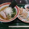 「タイガー本舗」イオンレイクタウンKAZE店で、一般的なラーメンと餃子を食べる