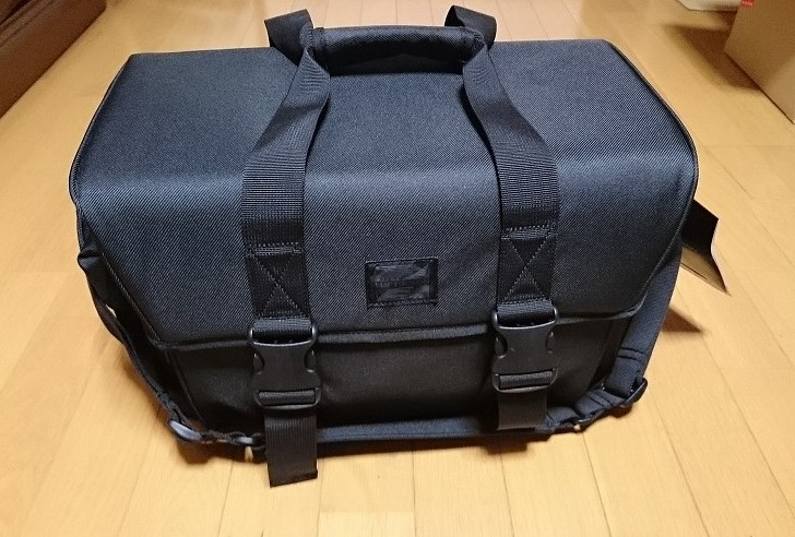 HAKUBA カメラバッグ ルフトデザイン リッジ ショルダーバッグ L 15.6L ブラック SLD-LG-SBLBK