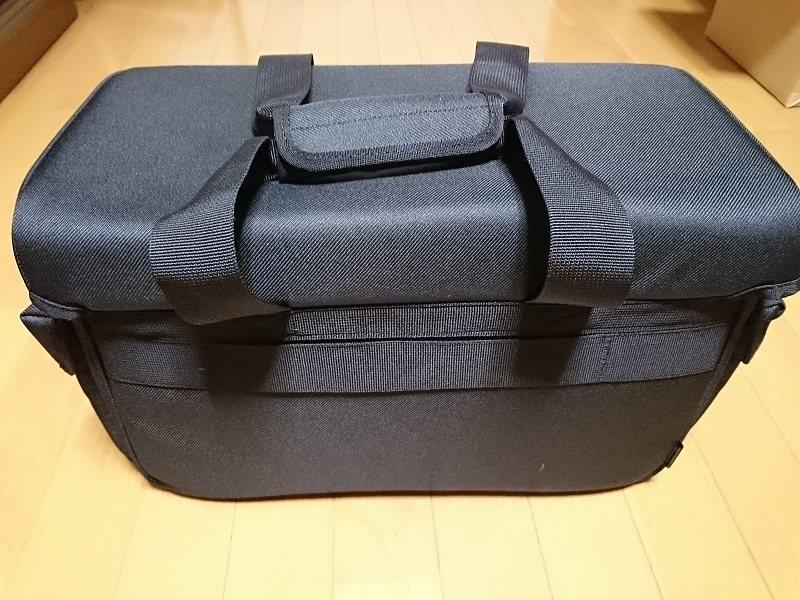 HAKUBA カメラバッグ ルフトデザイン リッジ ショルダーバッグ L 15.6L ブラック SLD-LG-SBLBK 裏