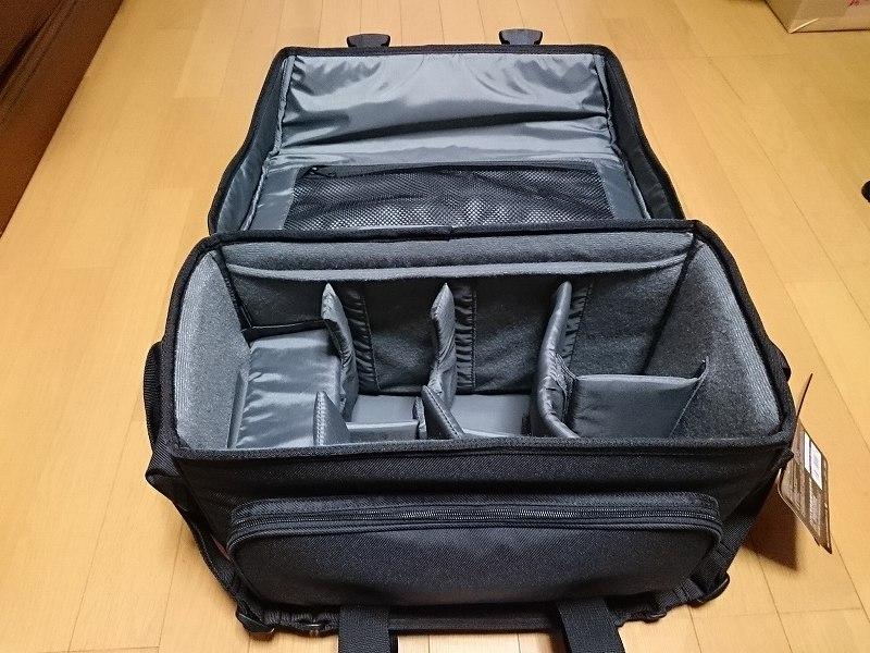 HAKUBA カメラバッグ ルフトデザイン リッジ ショルダーバッグ L 15.6L ブラック SLD-LG-SBLBK 中身