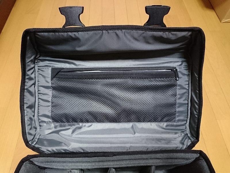 HAKUBA カメラバッグ ルフトデザイン リッジ ショルダーバッグ L 15.6L ブラック SLD-LG-SBLBK 天板裏