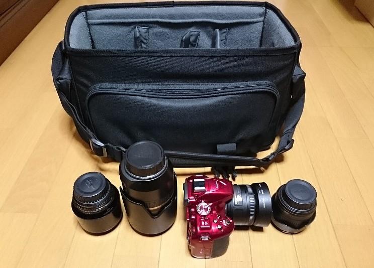 HAKUBA カメラバッグ ルフトデザイン リッジ ショルダーバッグ L 15.6L ブラック SLD-LG-SBLBK カメラ レンズを収納
