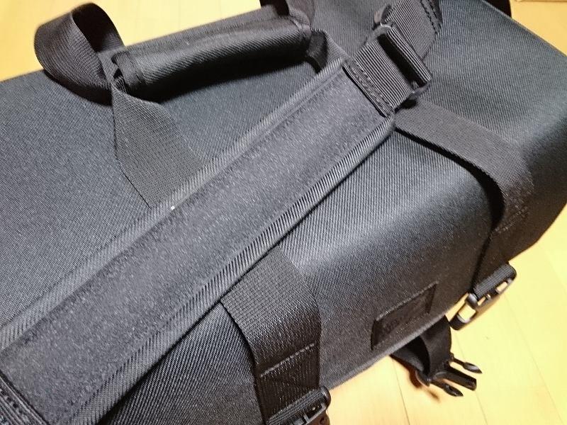 HAKUBA カメラバッグ ルフトデザイン リッジ ショルダーバッグ L 15.6L ブラック SLD-LG-SBLBK ショルダーベルト