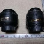 ニコン 「AF-S DX NIKKOR 35mm f/1.8G」と「AF-S DX NIKKOR 18-55mm f/3.5-5.6G VR II」の違いを比べてみた