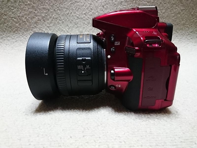 ニコン AF-S DX NIKKOR 35mm f/1.8G AF-S DX NIKKOR 18-55mm f/3.5-5.6G VR II