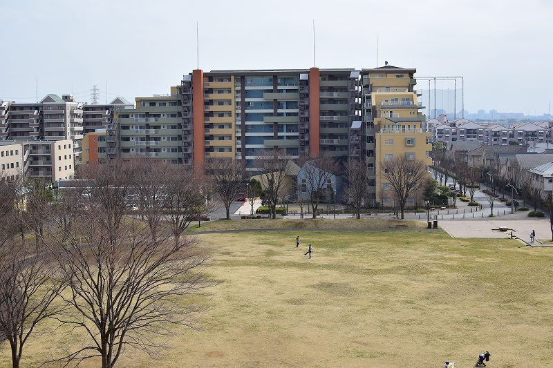 吉川市 永田公園 お山