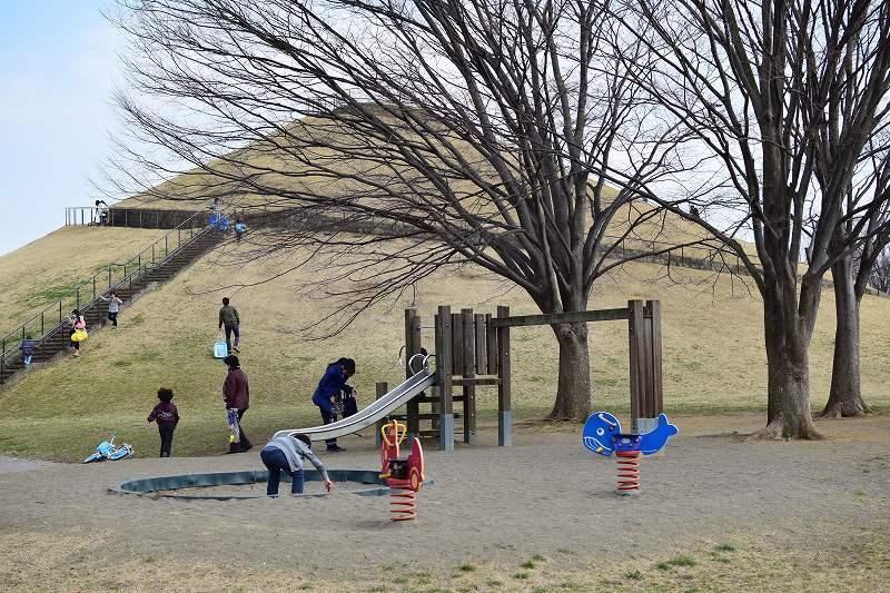 吉川市 永田公園 遊具
