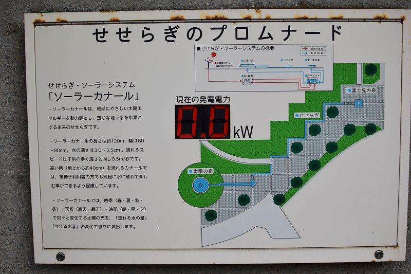 吉川市 永田公園 せせらぎのプロムナード