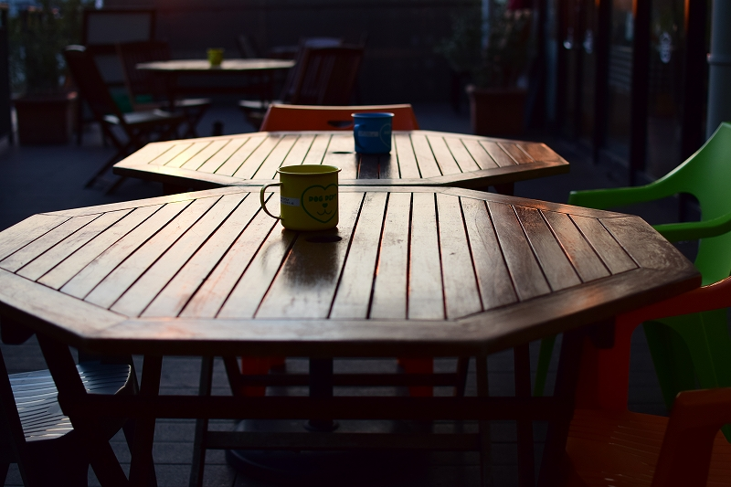 レイクタウンの夕暮れをAF-S DX NIKKOR 35mm f/1.8Gで撮影