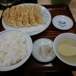 「ぎょうざの満州」初体験。ダブル餃子定食で3割どころか5割うまい!!!