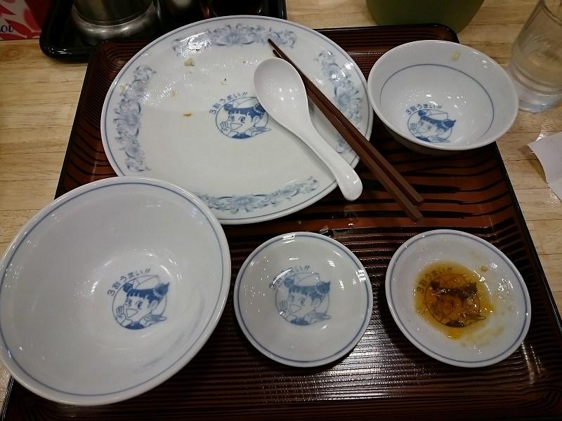 餃子のまんしゅう ダブル餃子定食