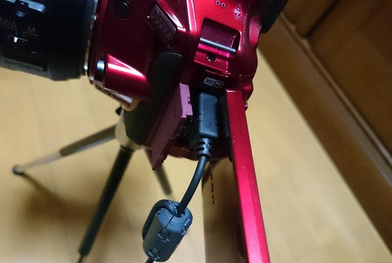 Nikon D5500とリモートコード