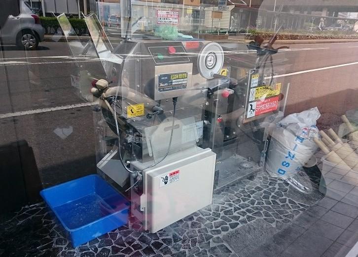 中華そば こむぎ 製麺機