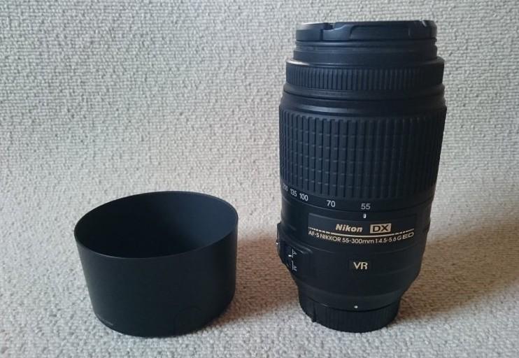ニコン 55-300㎜ レンズ