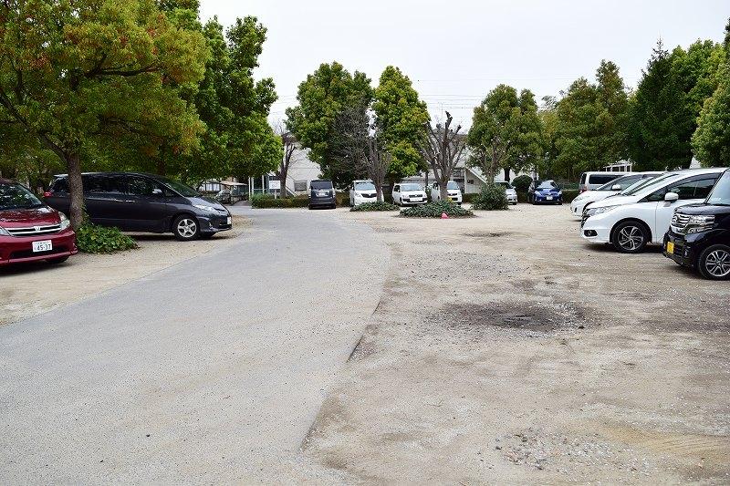 根ヶ谷戸公園 駐車場