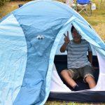モンベル クロノスドームは小学生でも張れる超おすすめテント!!!!!!