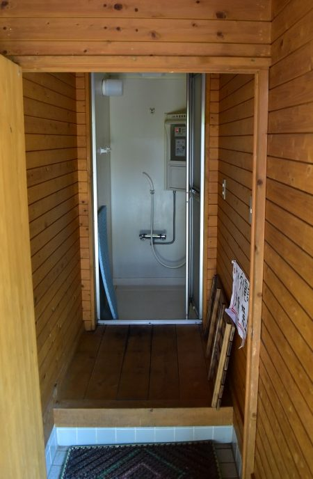 くのわき親水公園キャンプ場 シャワールーム