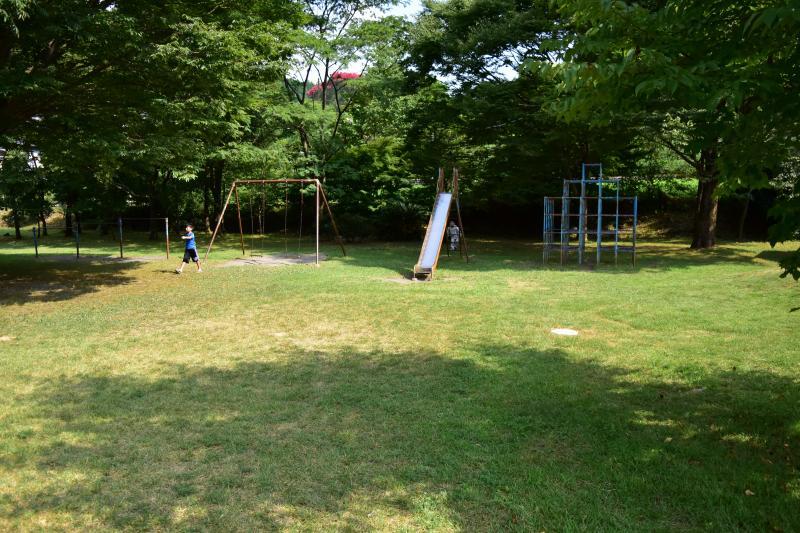 くのわき親水公園キャンプ場 遊具