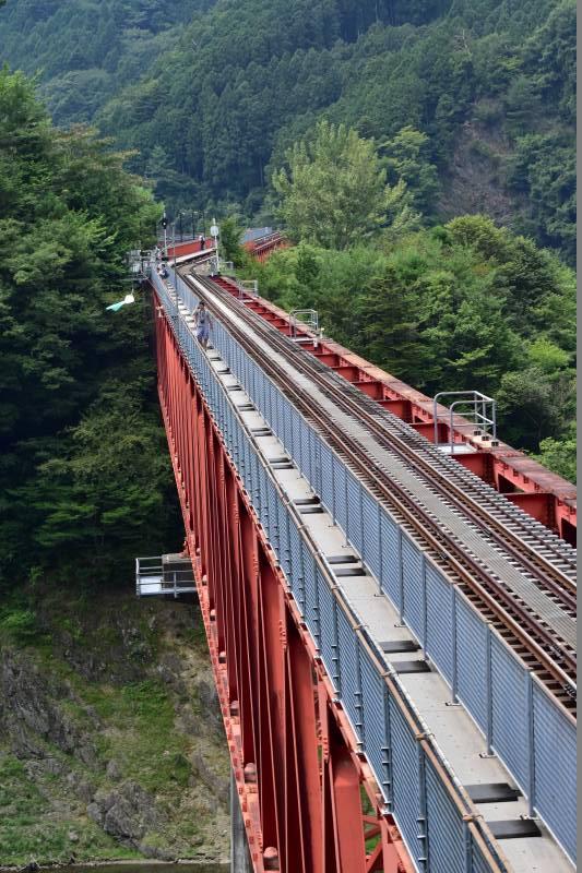 大井線 アプト式鉄道