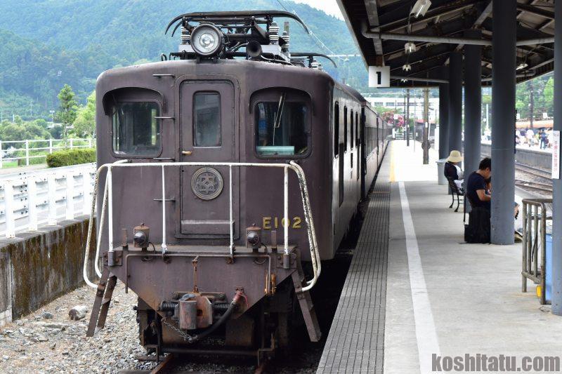 大井川鉄道 大井川線 古い列車