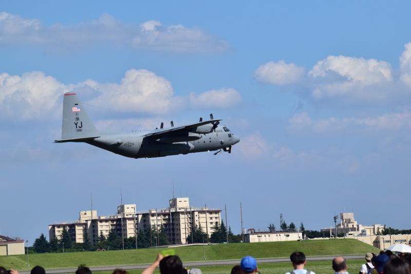 横田基地日米友好祭 C-130