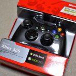 【箱コン】Xbox360コントローラーを使ってみたインプレ。見た目以上に使いやすいぞ!!!!