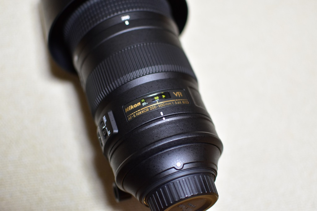 Nikon AF-S NIKKOR200-500mm f/5.6E ED VR