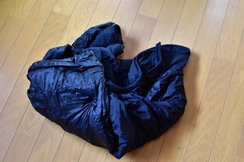 ダウンジャケット洗濯 洗濯が終わったダウンジャケット