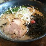 『とんこつラーメン 平九郎』 替え玉チョイスで2つの味の豚骨ラーメンを味わう