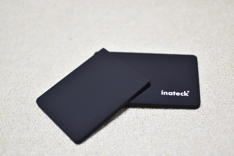"Inateck 2.5インチ HDDケース USB 3.0接続 9.5mm 7mm 2.5"" SATA HDD SSDに対応"