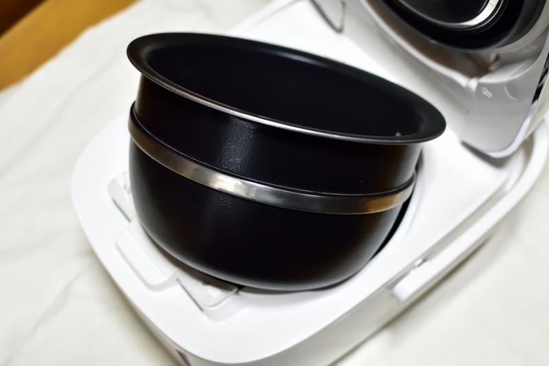 新しい炊飯器の思い内釜