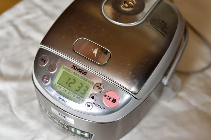 10年使った炊飯器