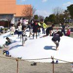 『アグリパークゆめすぎと』子供たちは『ふわふわドーム』で遊べ!!!!!