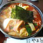 炭火焼肉『やまと』でカルビラーメンを食す。本当は松坂牛の焼肉が食べたい
