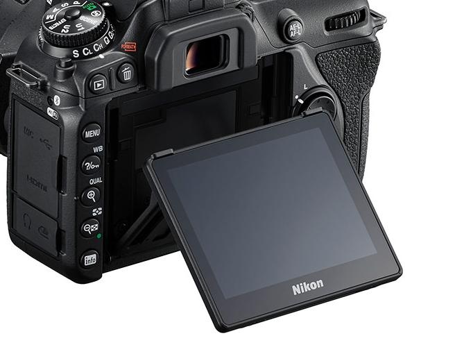 Nikon D7500 チルト液晶