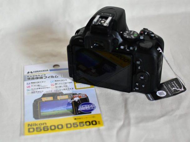 D5600 液晶保護フィルム