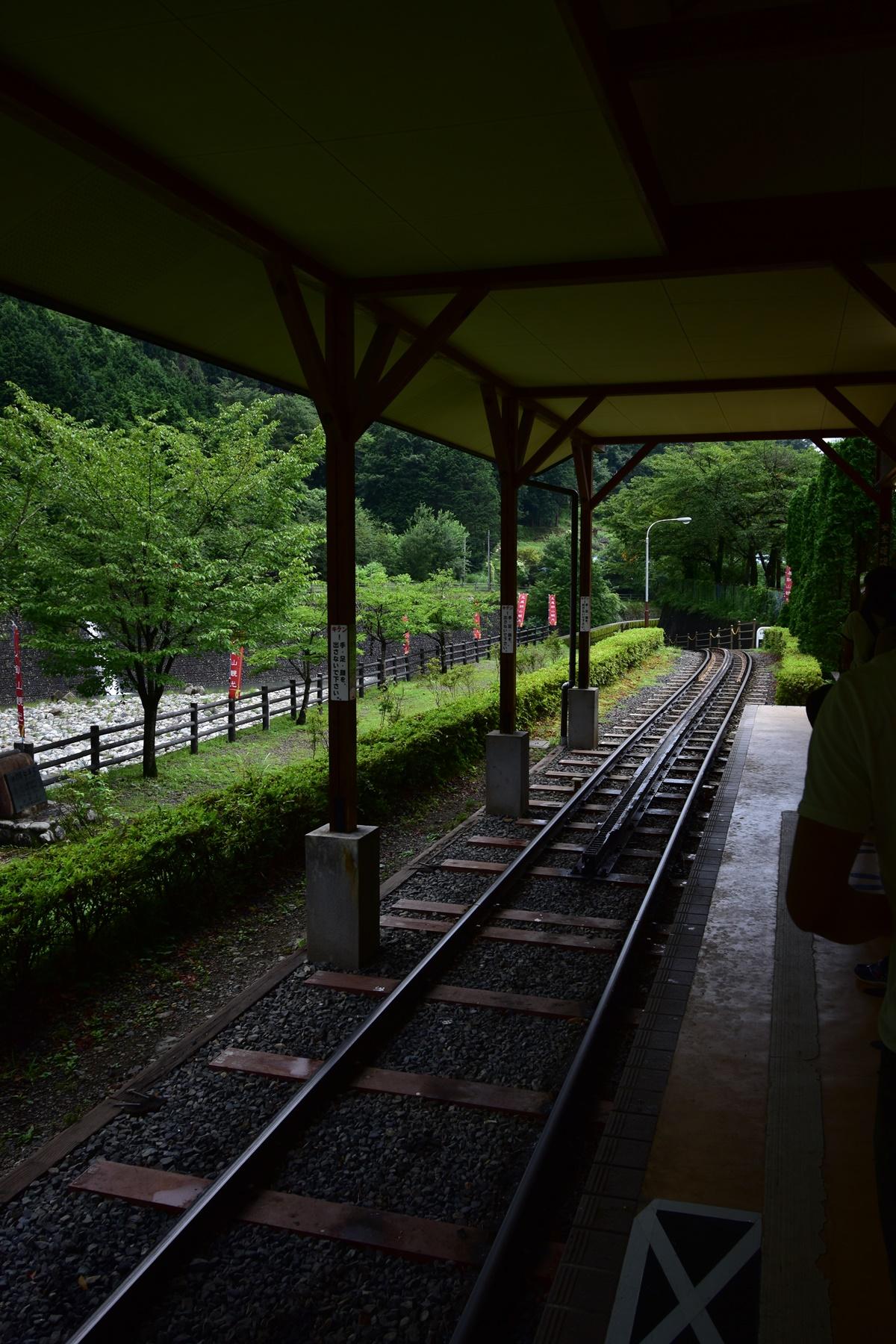 足尾銅山観光 トロッコ電車 アプト式