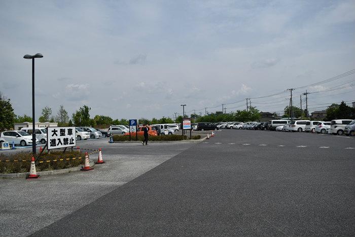 公園の駐車場 車中泊