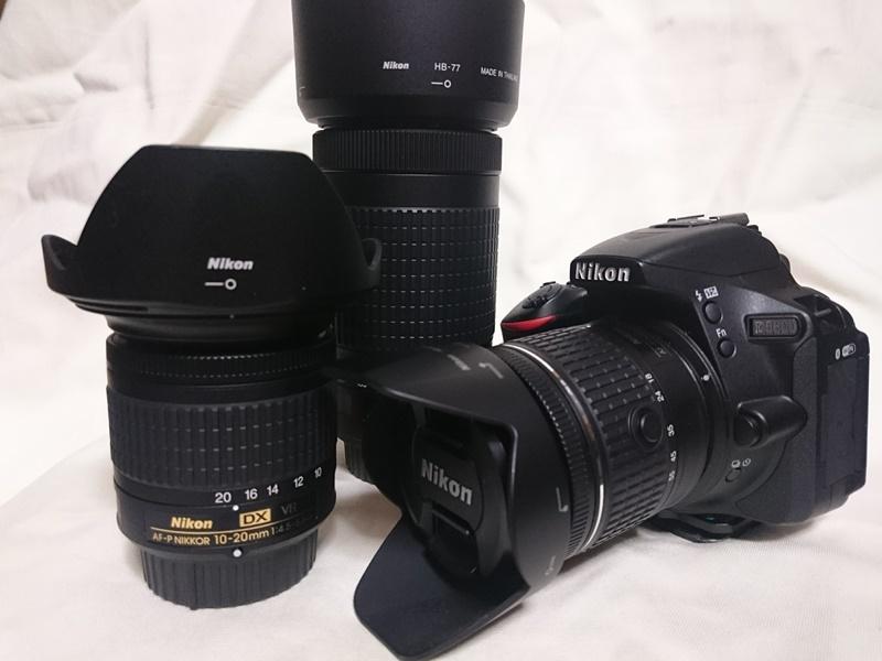 カメラ1台 交換レンズ2本